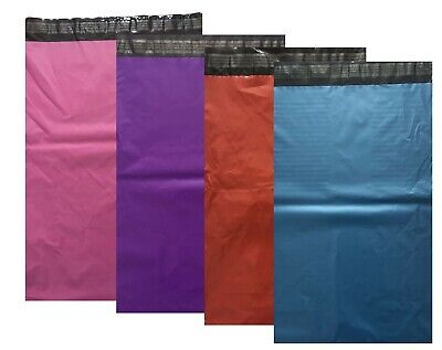 Strong Coloured Plastic Mailing Post Poly Postage Bags Self Seal Sale Sp Offer