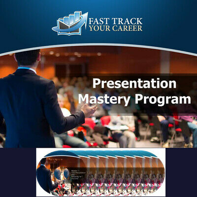 Presentation Skills Training Digital Course Effective Public Speaking + Bonuses