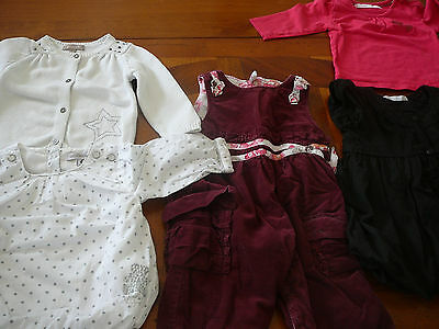 Vêtements fille 6 mois (automne-hiver) marques Marese, absorba...