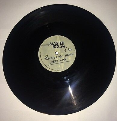 Meat Loaf Piece Of The Action Acetate Master Room Rock Heavy Metal Pop Mega Rare