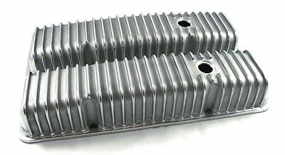 Small Block Chevy SBC Finned Valve Cover 283,305,307,327,350