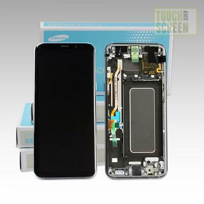 Original Samsung Galaxy S8 Plus G955F Display Screen schwarz black GH97-20470A