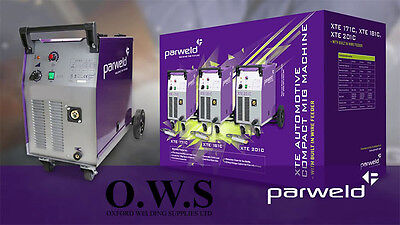 Parweld XTE 181C Automotive Transformer Type MIG Welder Welding Machine 185Amps