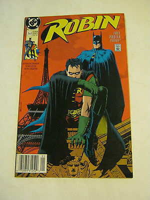 January 1991 DC Comics Robin #1 of 5, with poster <VF> (EB4-25)