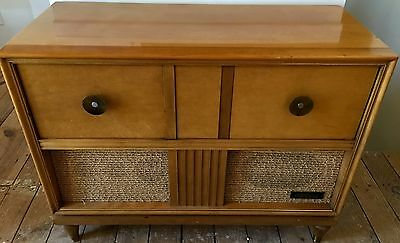 Mid Century Modern Stereo and Turntable Nordmende Sterling Tannhauser