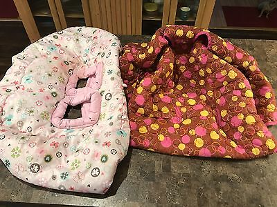 Lot Of 2 Shopping Cart Cover  Bright Starts Kids And babe Ease