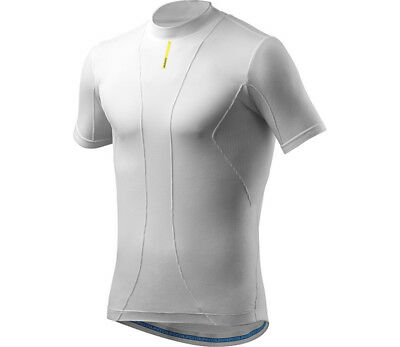 Mavic Cold Ride Short Sleeve Bike Base Layer Tee White