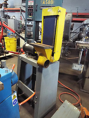 """Kalamazoo Industries  6"""" industrial belt sander & stand with dust collector"""