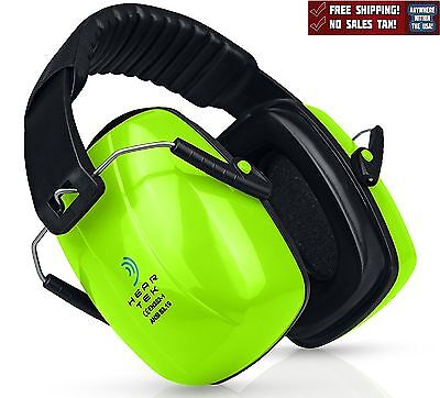 Safety Ear Muffs Noise Canceling Ear Hearing Protection Shooting Work Green New