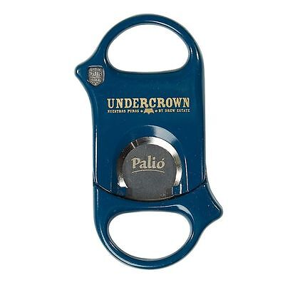 Palio Cigar Cutter BLUE UNDERCROWN LOGO! Surgical Steel Blades! SAVE 56%!! NEW!