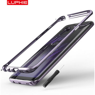 Luphie Metal Aluminum Bumper Frame Case Cover For Samsung Galaxy S8 / S9 Plus
