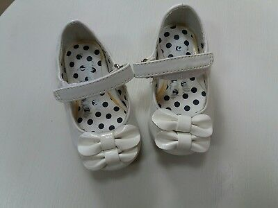 next baby girl white shoes size 3