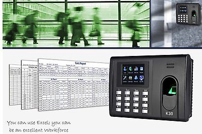 ZKTeco K-30 Fingerprint Reader and Keypad/TCP-IP Time Attendance&Access Control