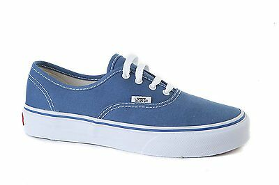 Vans Authentic Bambino Junior Wwxnwd Col. Navy Blue Jeans N. 27 30 31 35
