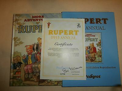 New Rupert 1953 Annual  Collectors' Limited Edition Reproduction