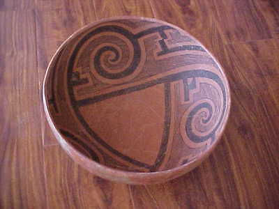 Prehistoric Wingate-St. Johns Indian Pottery Deep Bowl 1150-1400 AD