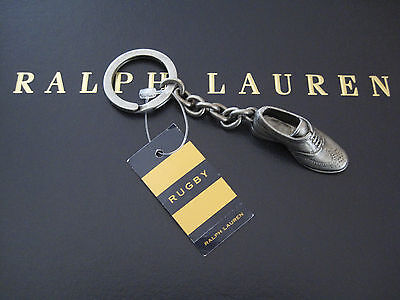 NEW RALPH LAUREN Rugby Metal Oxford Shoe FOB Key Chain Key Ring Keychain