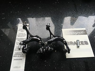 2014 Campagnolo Veloce Dual Pivot  Road Bike Brake Calipers Black OEM RRP £42.99