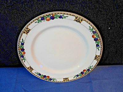 1890s John Maddock & Sons China Autumn Fruit / Manchester Dinner Plate 9 5/8""