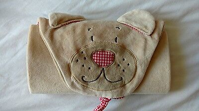Travel changing mat, unused, no tags, folds into cute dog cover