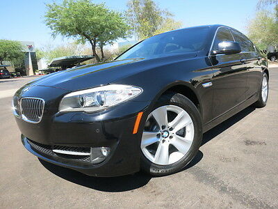 2011 BMW 5-Series 528i Premium Pack 2 Navi Back up Cam Convenience Loaded Black Low Mile 2012 2010 535i