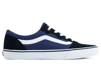 Vans Men's Milton Suede Canvas Shoe - Navy/STV Navy
