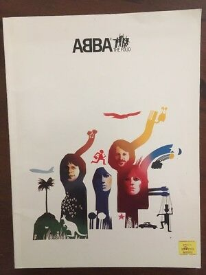 ABBA, The Folio, 1978, 40 Pages In Good Condition