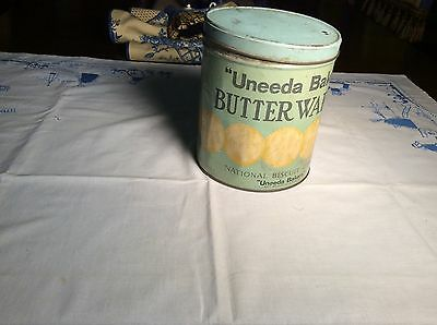 nabisco tin for Butter Wafers
