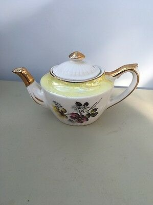 Gibsons Staffordshire England One Pot Teapot W855D