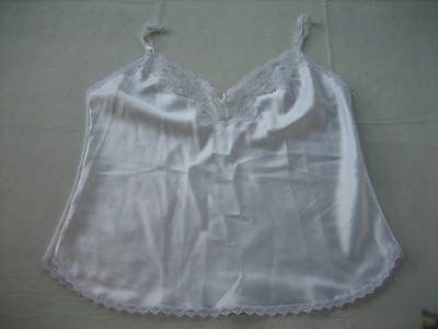 MAIDENFORM SOMETHING SPECIAL White Polyester Camisole - Style 81630 - Size 40