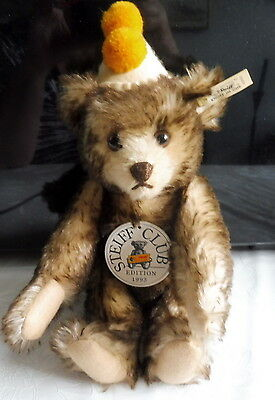 Steiff Club Edition 1993 Teddy Clown 1928 Knopf-Nr. 420023 - neuwertig
