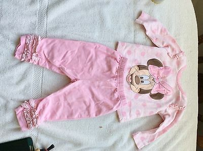 Baby girls Minnie Mouse Outfit 3-6 Months