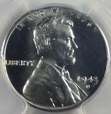 """1943-D Steel Lincoln Cent PCGS MS67  """"Incredible Quality""""  Registry!!"""