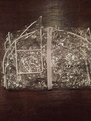 Clear Merle Norman Prom Dress Wedding Gown Pageant Garment Storage Bag Dust