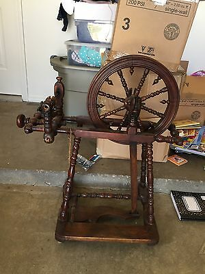 Antique Spinning Wheel from Germany