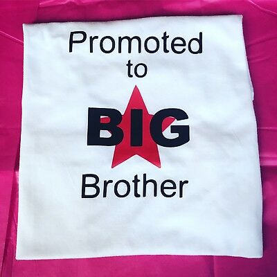Promoted To Big Brother Star Boys Top New Baby Pregnancy Announcement T-shirt 2