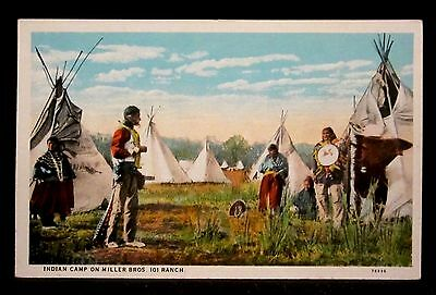 INDIAN CAMP Family-Tepee-Warrier-Miller 101 RANCH Rodeo, PONCA CITY,OK Oklahoma