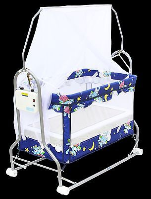 Brand New Baby Automatic Rocking Bassinet & Cot