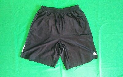 Mens Black Adidas Basketball Shorts, Sz Medium