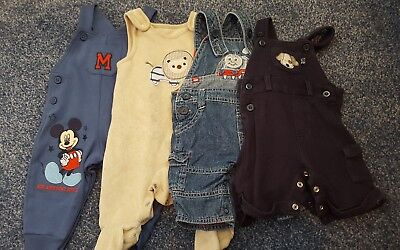Baby boy dungarees bundle 0-3 months