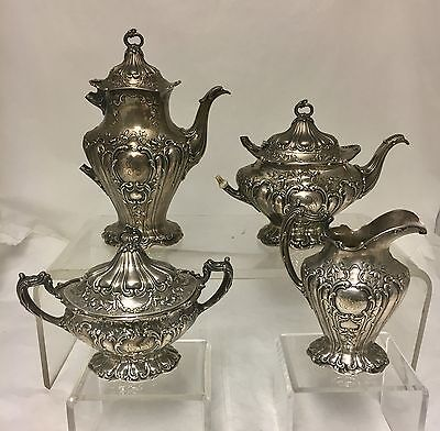 Gorham Chantilly Grand Sterling Tea Set