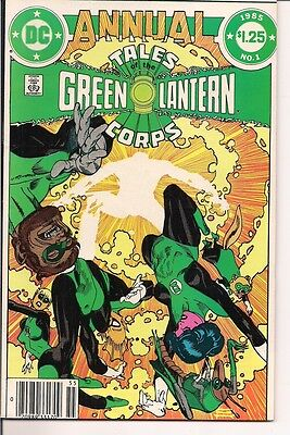 Tales of the Green Lantern Corps Annual #1 by DC Comics (1985)