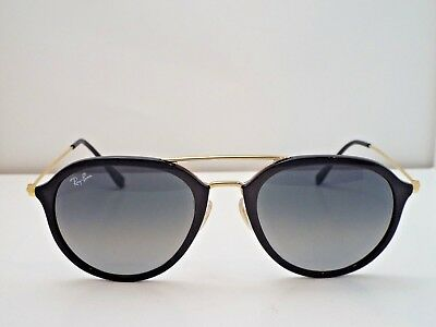 3c1b933a9b4fc Authentic Ray-Ban RB 4253 601 71 Gold Black Grey Gradient 53 mm Sunglasses