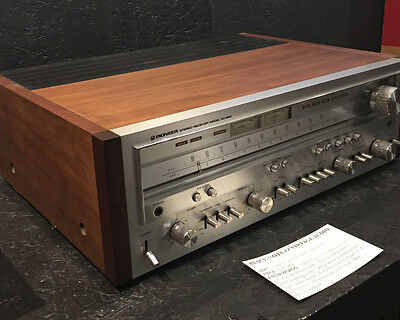 Pioneer SX-850 Stereo Reciever, serviced and in great working order!