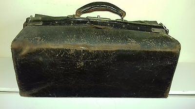 Vintage obstetrical surgeons bag with all original contents