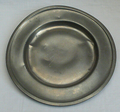 Antique Royal Holland Pewter Daalderop Charger Plate