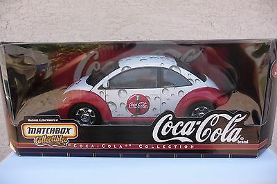 Coca Cola Volkswagen By Matchbox Collectibles 1/18Th