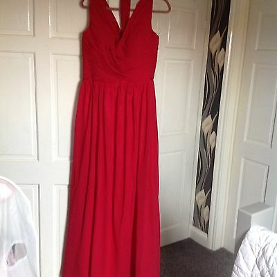 New Formal Long Evening Ball Gown Party Prom Bridesmaid Dress  Size 16