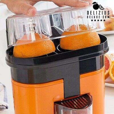 Orange Juicer Electric Double Squeezer Machine Easy Juice Maker New Fruits Fresh
