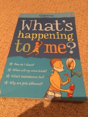 What's Happening To Me?: Boy by Alex Frith (Paperback, 2006)